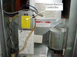 troubleshooting coleman's blend air systems mobile home repair Coleman Furnace Thermostat Wiring Diagram trouble shoot blend air hvac mobile home
