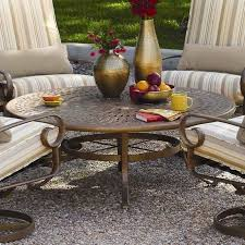 large picture of winston furniture cantania mcas 054 m9954bl round cocktail cast table