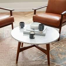 reeve mid century round coffee table