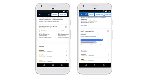 google will give you salary estimates before you apply for a job