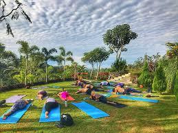 radiant hot yoga ubud bali retreat