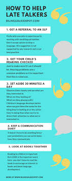 Late Talkers What You Can Do If Your Child Is Not Talking Yet