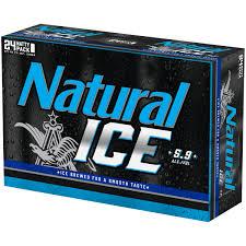 24 Pack Of Natty Light Natural Ice Beer 24 Pack 12 Fl Oz Cans Walmart Com