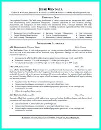 Chef Resume Executive Chef Resume Samples Resume Samples 20
