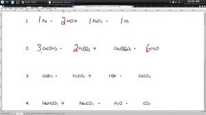 more practice balancing equations worksheet episode 604 page 6 25