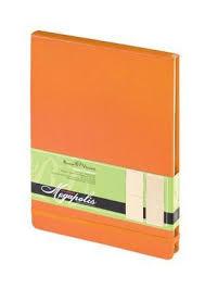 КАНЦ <b>Блокнот А5</b> 100 л. кл. <b>Bruno Visconti</b> 'Megapolis' (оранж.) на ...