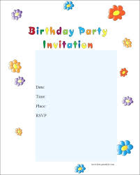 Free Party Invitations Templates To Print Sepulchered Com