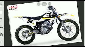 Yamaha Xtz 125 Decals Design Xtz Decals Youtube