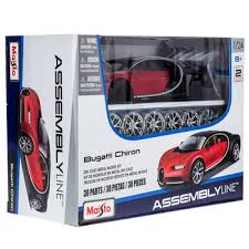 Sold and shipped by diecast models wholesale. Bugatti Chiron Die Cast Model Kit Hobby Lobby 1556174