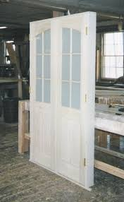 interior double inner arch top door unit frosted obscured glass