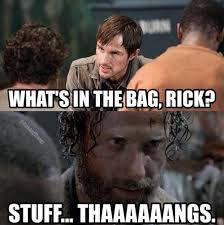 Rambo Carol: 'The Walking Dead' Memes — Season 5 Premiere ... via Relatably.com