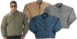 Uncle Sams Army Navy Outfitters - ROTHCO DIAMOND QUILTED FLIGHT ... & ROTHCO DIAMOND QUILTED FLIGHT JACKET- GREY Adamdwight.com