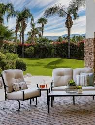 home outdoor furniture wrought iron furniture altura collection