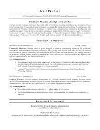 Real Estate Manager Resume Foodcity Me