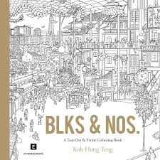 Fun Singapore Themed Colouring Books And Cards For Adults The Finder