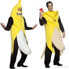 Attractive 2019 Men Cosplay Adult Fancy Dress Funny Sexy Banana Costume Novelty  Halloween Christmas Carnival Party Decorations From Junn, $15.23    DHgate.Com