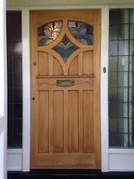 furniture interesting wooden front doors with glass abruko