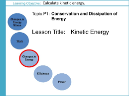 aqa gcse p1 conservation and dissipation of energy l5 kinetic energy physics equation 8 by scienceteacher teaching resources tes