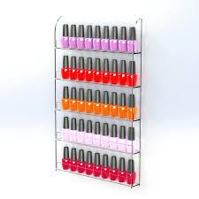 nail polish rack wall mounted nail varnish display nail polish holder gel varnish rack beauty stand nail polish rack