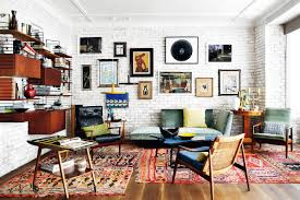 home of decorator mikel irastorza has a true vintage spirit and combines together love for art mid century modern design design48