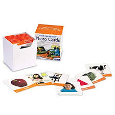 Learning Resources Basic Vocabulary Photo Cards Vocab Phonics Learning 156 Cards Ages 5