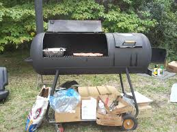homemade grill from a propane tank