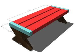 Plans For Building A Bench