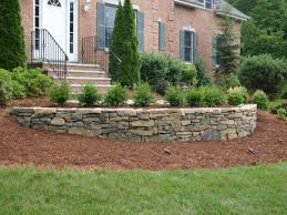 retaining wall designs ideas landscaping stone retaining