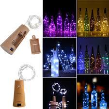 String Light Wine Bottle Details About 10 20 30 Led Cork Shaped Copper Wire String Lights Wine Bottle For Xmas Decor Ca