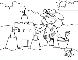Coloring Pages: beach coloring pages. Beach Coloring Pages Free ...