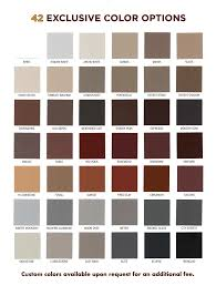 Brick Stain Colors Stayntech Color Chart Brickimaging