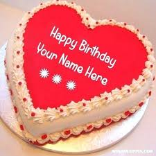 Sketch My Name Online Write Name On Heart Look Birthday Cake Online