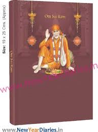 43 Sai Baba Pictorial Diary 2020 8 Photo Pages Hb Box G