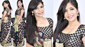 how to do indian makeup tutorial how to style saree superprincessjo you