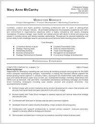 Marketing Director Resume Sample Samples Intended For Manager Format ...