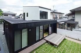 Bagno Giapponese Moderno : Piccola casa in legno stile giapponese moderno progetto per le