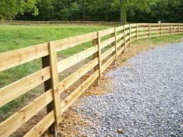 wooden farm fence. Wood Fence Farm Wooden