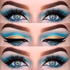 Ägyptische augen schminken