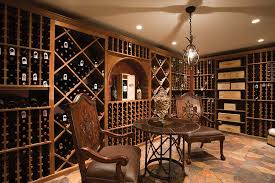 home wine room lighting effect. A Door To The Outside Also Gives This Cellar Freer Atmosphere Than Other Contained Wine Cellars. Home Room Lighting Effect T