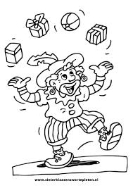 25 Ontwerp Kleurplaten Sinterklaas En Zwarte Piet Mandala