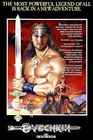 Tim Sievers on Twitter | Conan the destroyer, Conan the barbarian, Movie  posters