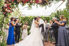 we love a good garden wedding and we love it even more when a couple really goes all out in making the most of their natural surroundings like jane