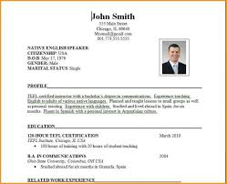 Sample Resume Format Magnificent Free Download Sample Resume Format Sample Cv Format Cv Resume