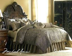 michael amini bedding comfortable charisma and bedding with bed skirt and white rugs for michael michael amini bedding