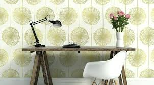 green wallpaper living room dandelion fl wallpaper green green wallpaper feature wall living room