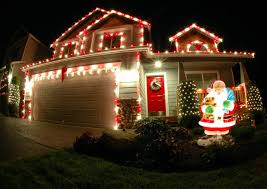 White Or Colored Christmas Lights On House Exterior Xmas Light Ideas Red And White Colored Outdoor
