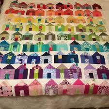 Pat Sloan's Blog: 2016/17 Village Sew Along & 29. Pam White Village quilt Adamdwight.com
