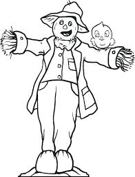 coloring free printable scarecrow coloring pages page for kids 3 sheets