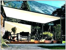 Fabric patio shades Retractable Home Foscamco Home Depot Sun Screen Fabric Great Mesh Tarp Home Depot For Your