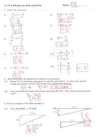 Solving multi step equations worksheet answers kuta software ...